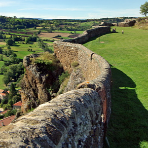 Fortress of Polignac - rampart