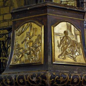 Saint-Bonnet-le-Château, Collegiate Church - pulpit