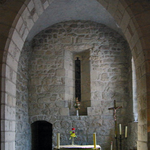Marols Church - chancel
