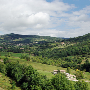 View near Saint-Félicien