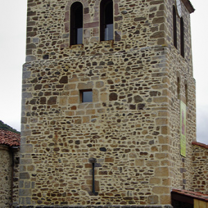 Potes, old church of San Vincente