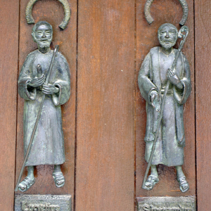 Santo Toribio de Liébana - detail on the Door of Pardon