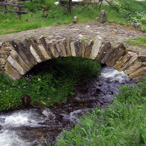 Aniezo - medieval bridge