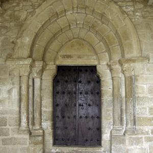 Olóriz Church door