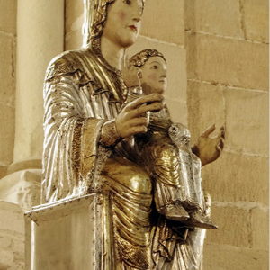 Monasterio de Irache  - Virgin and Child