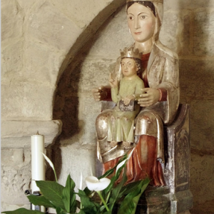 Iglesia Santa Maria de Eunate - Virgin and Child
