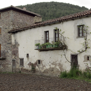Uriz, traditional house