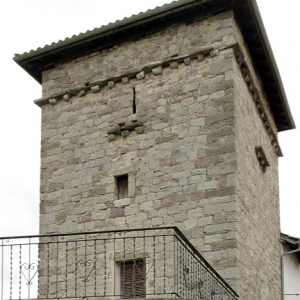 Uriz, tower house
