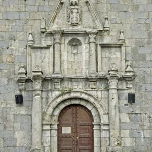 Auritz/Burguete, church door