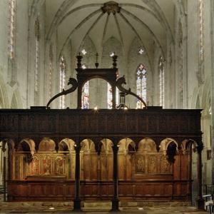 Cathédrale Notre-Dame de Saint-Bertrand-de-Comminges - rood screen