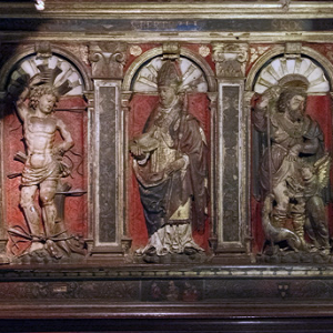 Cathédrale Notre-Dame de Saint-Bertrand-de-Comminges - rood screen
