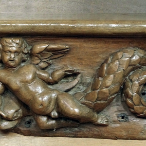 Foix, Abbatiale St-Volusien - misericord
