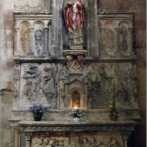 Foix, Abbatiale St-Volusien - south altar