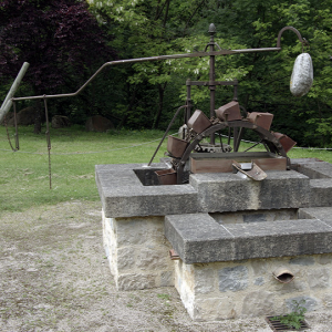 Forges de Pyrène - horse powered water pump