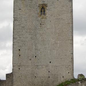 Château de Puivert  - keep