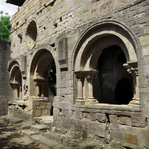 Alet-les-Bains Abbey - chapter house