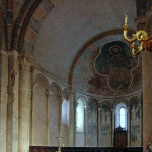 St Lizier, St Girons Cathedral - chancel