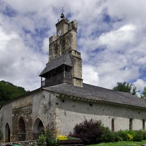Audressein, Église Notre-Dame-de-Tramesaygues