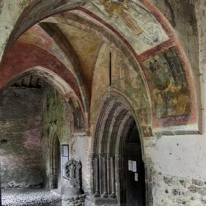 Audressein, Église Notre-Dame-de-Tramesaygues - porch