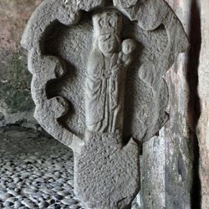 Audressein, Église Notre-Dame-de-Tramesaygues - calvary