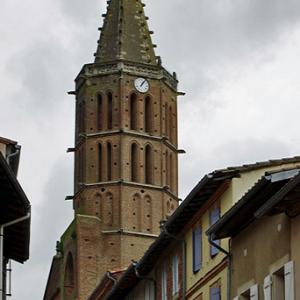 Lezat-sur-Lèze, Èglise St-Jean-Baptiste