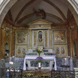 Lezat-sur-Lèze, Èglise St-Jean-Baptiste - side chapel