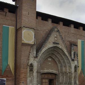 Rieux-Volvestre, Cathédrale Sante-Marie