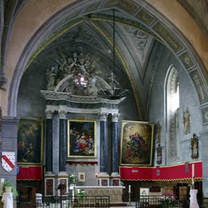 Rieux-Volvestre, Cathédrale Sante-Marie  - chancel
