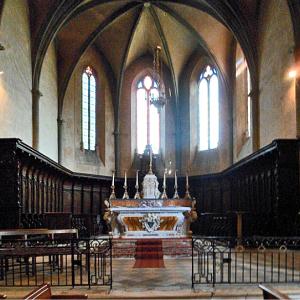 Rieux-Volvestre, Cathédrale Sante-Marie  - choir