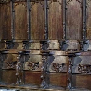 Rieux-Volvestre, Cathédrale Sante-Marie  - choir stalls