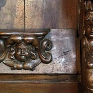 Rieux-Volvestre, Cathédrale Sante-Marie  - choir stall