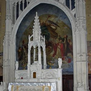 Montesquieu-Volvestre, Église St-Victor - high altar