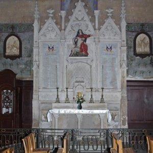 Montesquieu-Volvestre, Église St-Victor - side altar