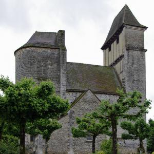 Prats-du-Périgord - Église St-Maurice