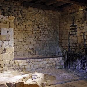 Château de Beynac - guard room