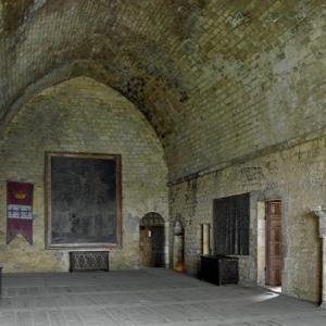 Château de Beynac - great hall