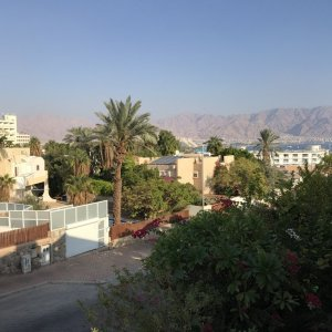 View from balcony in Eilat