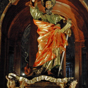 Statue of St Paul, St Paul's Shipwreck, Valletta