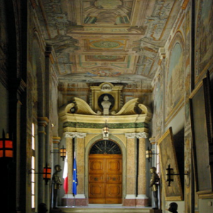 Grand Masters' Palace - Doorway of the House of Representatives