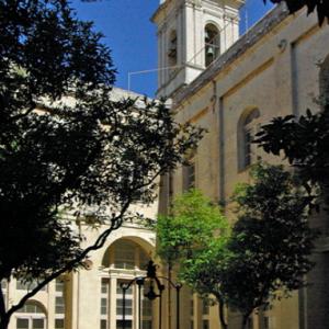 Carmelite Priory - Cloister garden