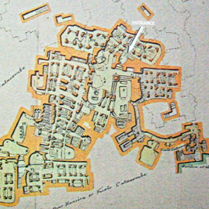 Plan of St Paul's Catacombs