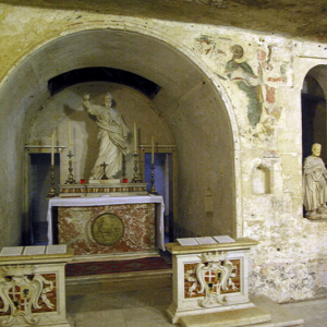 St Paul's Church - crypt