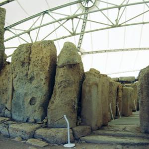 Hagar Qim - far entrance