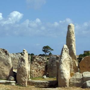 Hagar Qim - remains of western temple