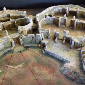 Model of Mnajdra Temples
