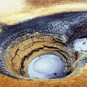 Hverir - mud pool