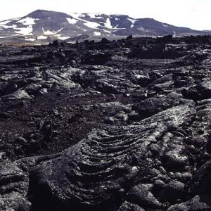 Leirhnjúkshraun - lava flow