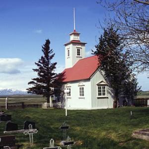 Laufás Church