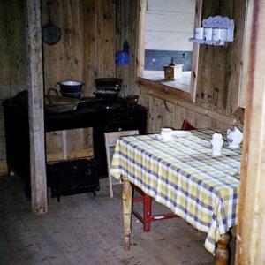 Laufás farm - kitchen