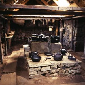 Grenjadarstadur - old kitchen